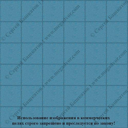 Квадрат 200*200 мм (синий)