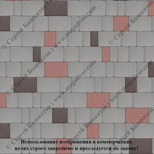 Старый Город Эконом (серый, красный, коричневый)