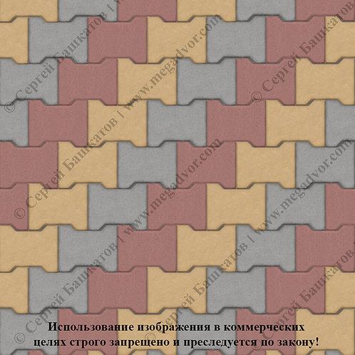 Катушка Максимум (серый, красный, жёлтый)