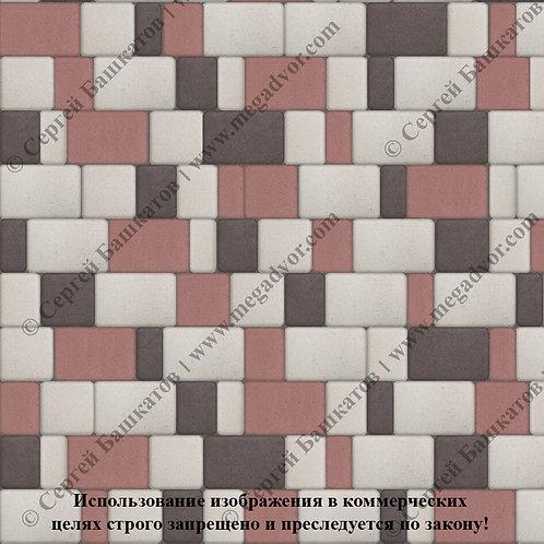 Старый Город Стандарт (белый, красный, коричневый)