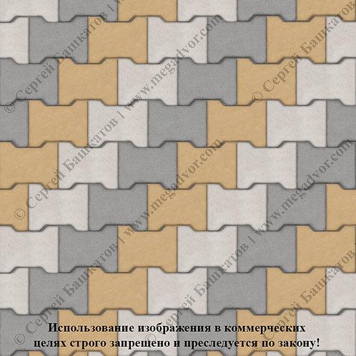 Катушка Максимум (серый, жёлтый, белый)