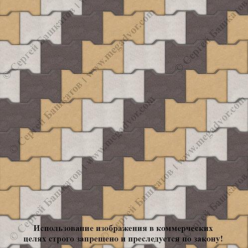Катушка Максимум (белый, жёлтый, коричневый)