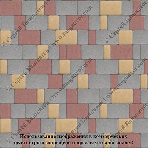 Старый Город Стандарт (серый, красный, жёлтый)