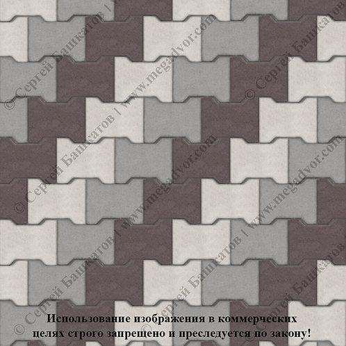 Катушка Максимум (серый, белый, коричневый)