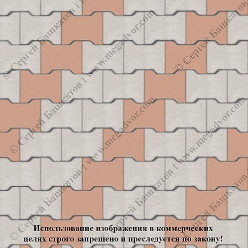 Катушка Стандарт (белый, оранжевый)