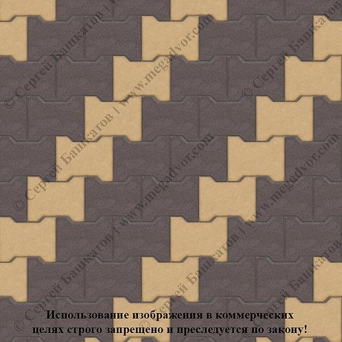 Катушка Стандарт (коричневый, жёлтый)