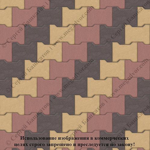 Катушка Максимум (красный, жёлтый, коричневый)