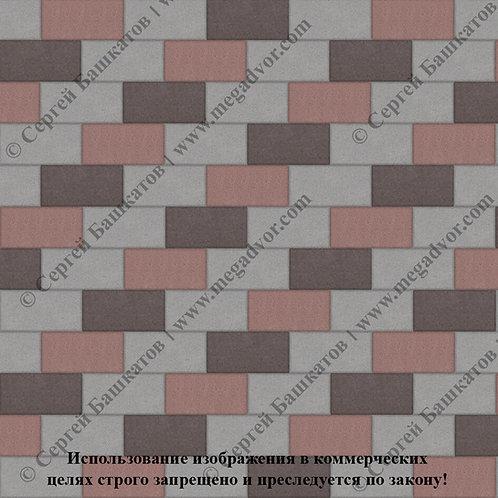 Кирпичик Стандарт (серый, красный,коричневый)