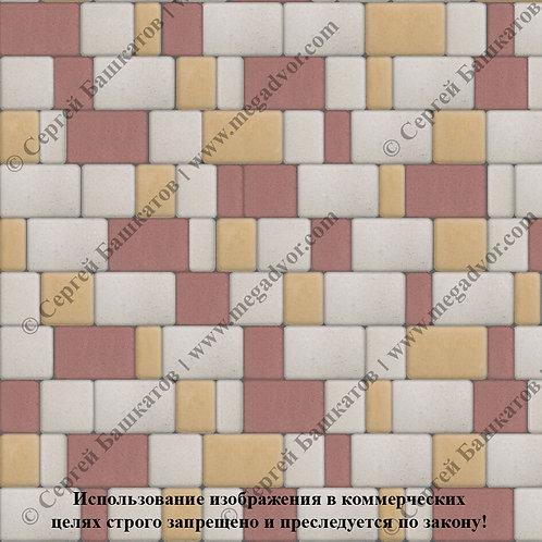 Старый Город Стандарт (белый, красный, жёлтый)