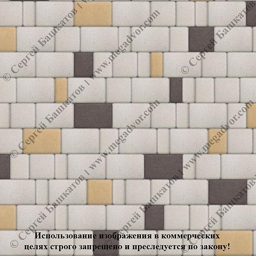 Старый Город Эконом (белый, коричневый, жёлтый)