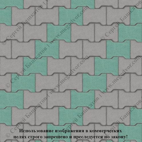 Катушка Стандарт (серый, зелёный)