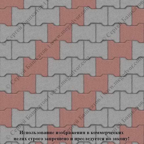 Катушка Стандарт (серый, красный)