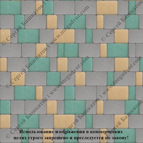Старый Город Стандарт (серый, зелёный, жёлтый)