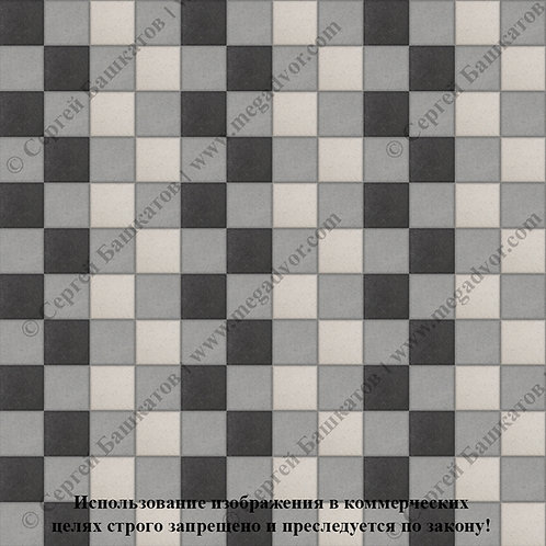 Квадрат 100х100 Стандарт (серый, белый, чёрный)