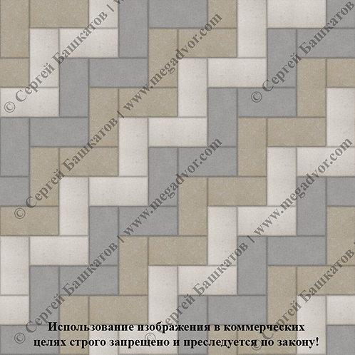 Кирпичик Максимум (серый, белый, хаки)