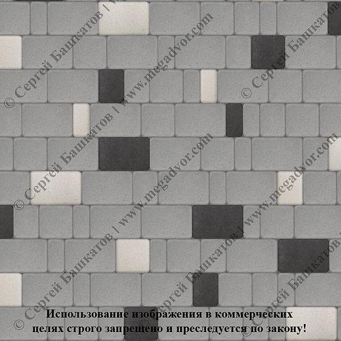 Старый Город Эконом (серый, белый, чёрный)