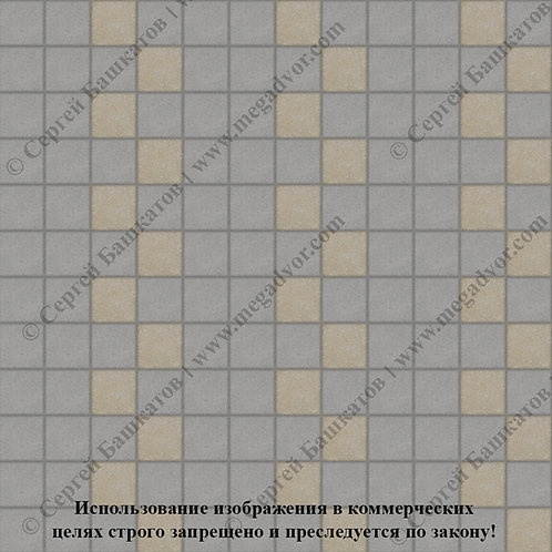 Квадрат 100х100 Эконом (серый, хаки)