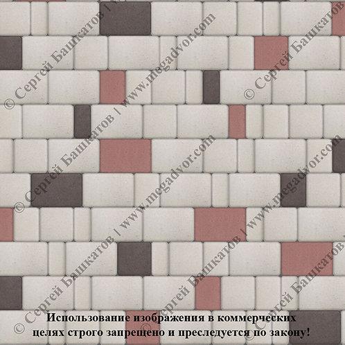 Старый Город Эконом (белый, красный, коричневый)