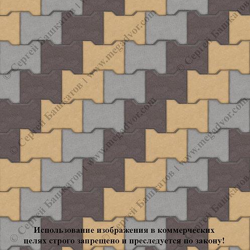 Катушка Максимум (серый, коричневый, жёлтый)