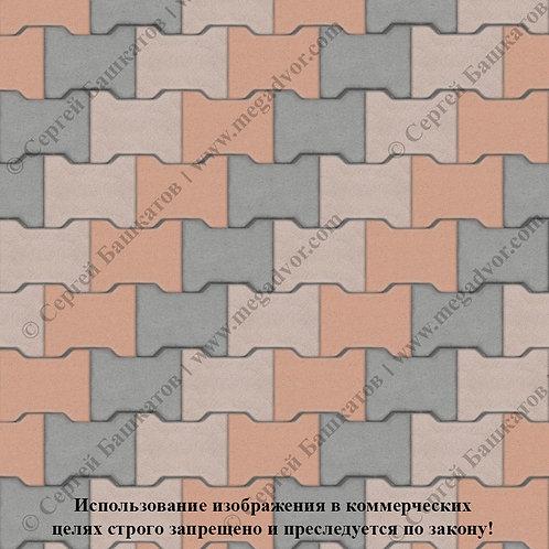 Катушка Максимум (серый, бежевый, оранжевый)