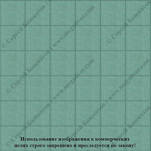 Квадрат 200*200 мм (зелёный)