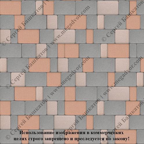Старый Город Стандарт (серый, бежевый, оранжевый)