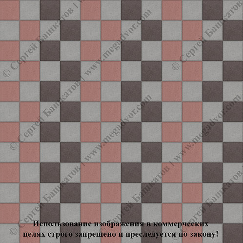 Квадрат 100х100 Стандарт (серый, коричневый, красный)