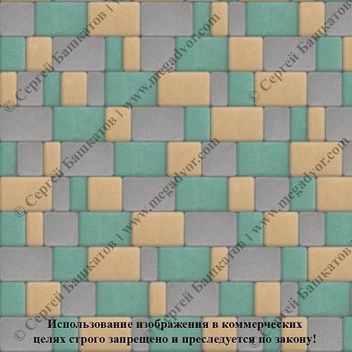 Старый Город Максимум (серый, зелёный, жёлтый)