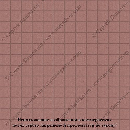 Квадрат 100х100 (красный)
