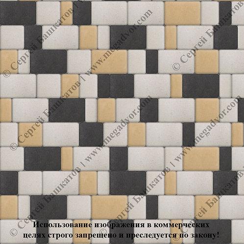 Старый Город Стандарт (белый, чёрный, жёлтый)