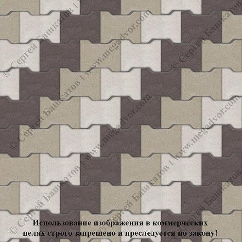 Катушка Максимум (белый, хаки, коричневый)
