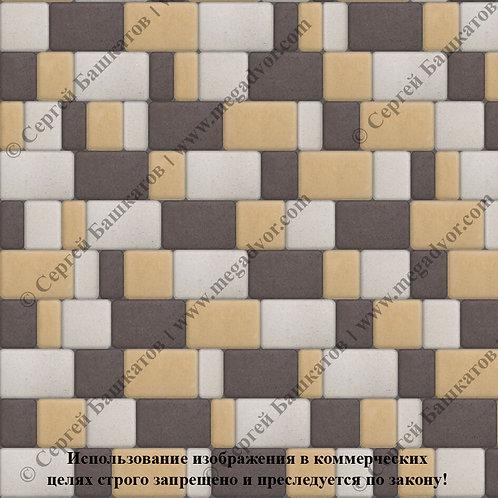 Старый Город Максимум (белый, коричневый, жёлтый)