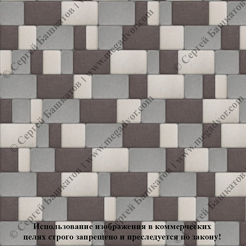 Старый Город Максимум (серый, коричневый, белый)