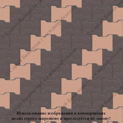 Катушка Стандарт (коричневый, оранжевый)