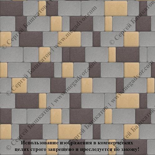Старый Город Стандарт (серый, коричневый, жёлтый)