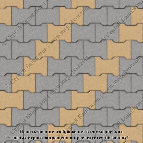 Катушка Стандарт (серый, жёлтый)