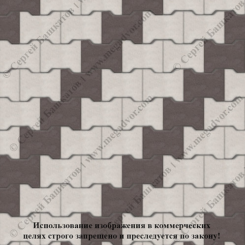 Катушка Стандарт (белый, коричневый)