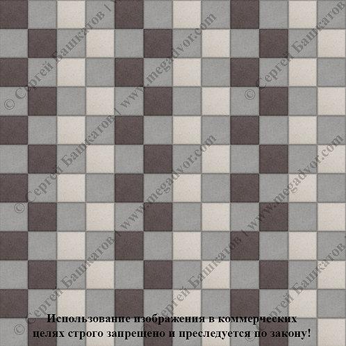 Квадрат 100х100 Стандарт (серый, коричневый, белый)