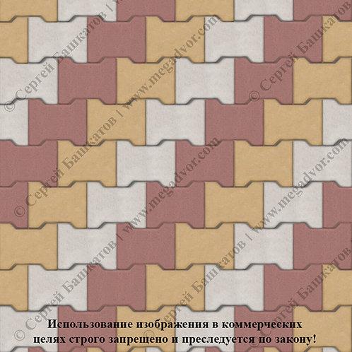 Катушка Максимум (белый, красный, жёлтый)