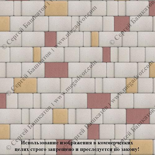 Старый Город Эконом (белый, красный, жёлтый)