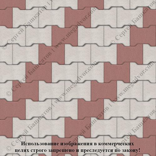 Катушка Стандарт (белый, красный)
