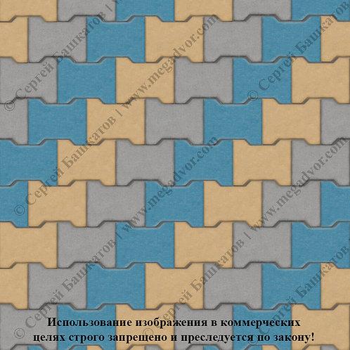 Катушка Максимум (серый, синий, жёлтый)