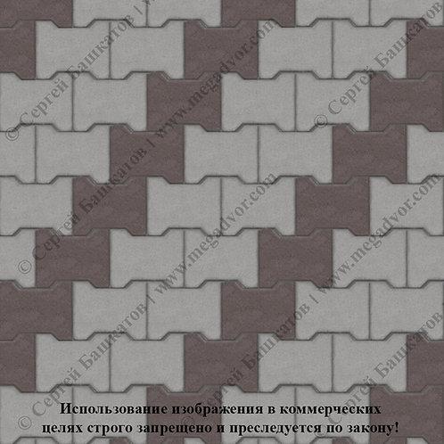 Катушка Стандарт (серый, коричневый)