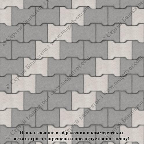 Катушка Стандарт (серый, белый)