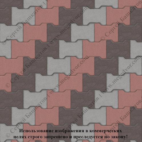 Катушка Максимум (серый, красный, коричневый)