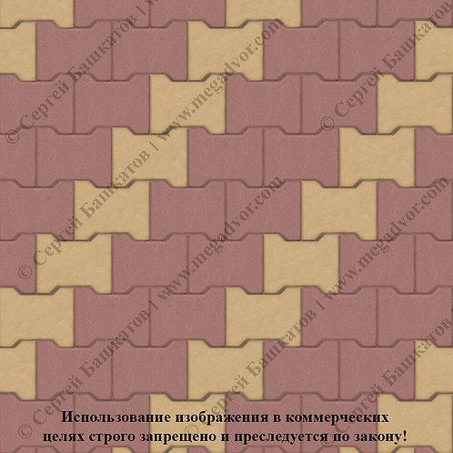 Катушка Стандарт (красный, жёлтый)