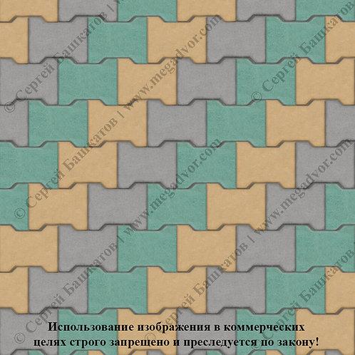 Катушка Максимум (серый, зелёный, жёлтый)