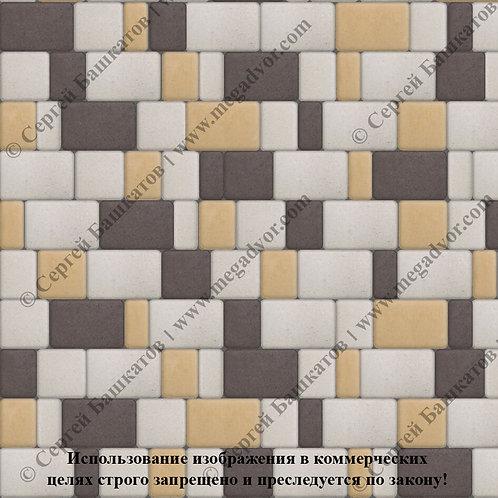 Старый Город Стандарт (белый, жёлтый, коричневый)