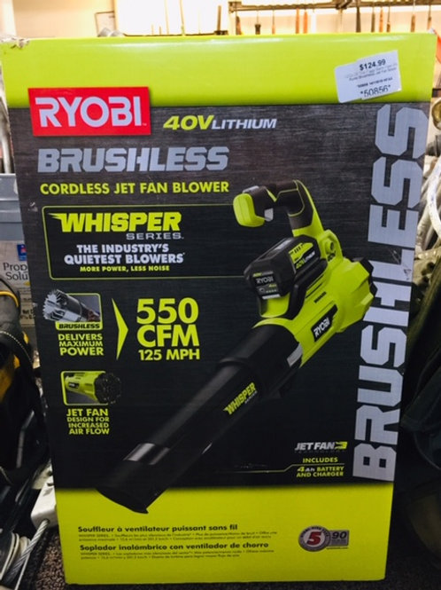 Ryobi Brushless Blower *NEW*
