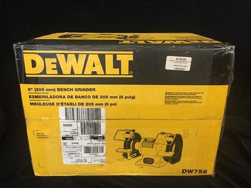 "DeWalt 8"" bench grinder *New *"